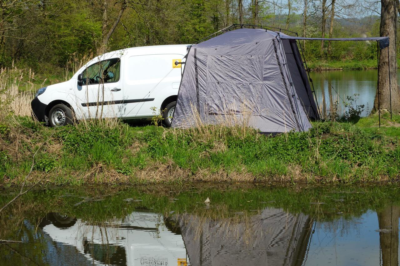 Captain Hook   Voortent Bestelauto   VW Caddy, Berlingo e.a.