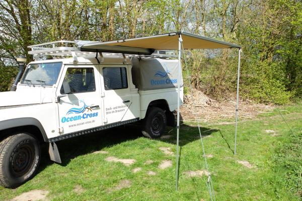 Luifel op Land Rover Defender 130